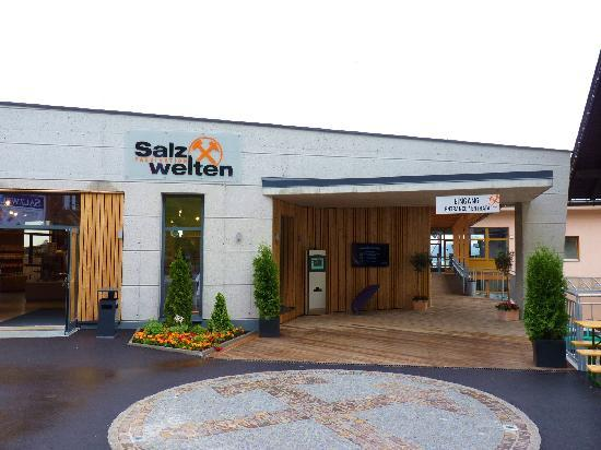Salt Mine Hallein: view to the entrance