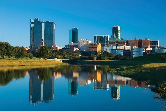 Fort Worth, TX: River Skyline