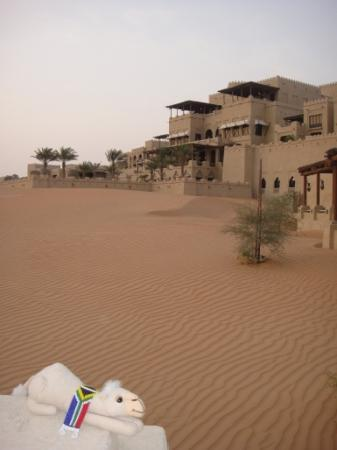 Qasr Al Sarab Desert Resort by Anantara: From the desert to the hotel