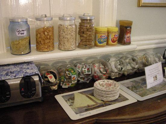 Fremantle Bed and Breakfast : Choices for breakfast