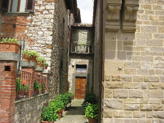 Monteriggioni, Italia: Radda