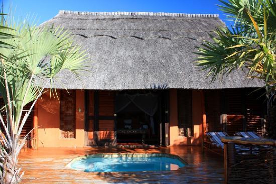 andBeyond Benguerra Island: Unser Bungalow mit Plunge Pool