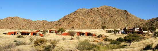 Barchan Dune Retreat: view barchn