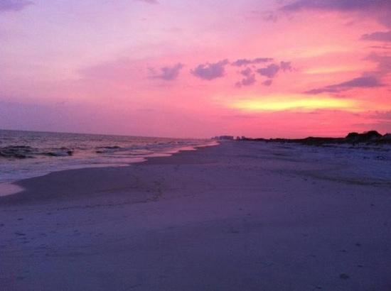 Santa Rosa Beach, FL: Sunset at Topsail
