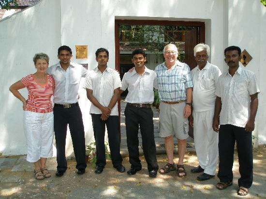 Neemrana's Le Colonial: exakkent staff