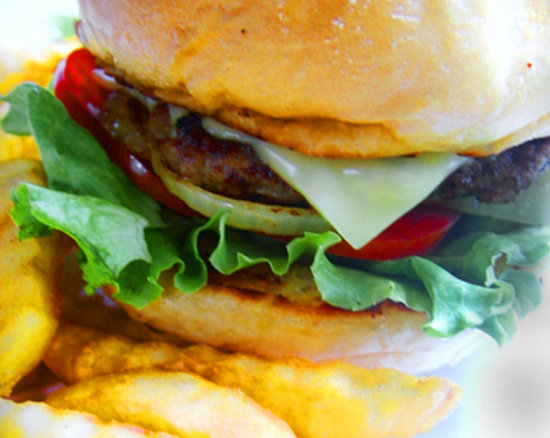 Drunken Sailors: Best burgers on the island!