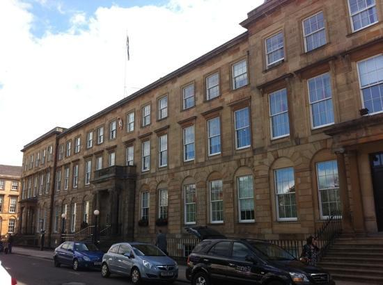 Blythswood Square: hotel front