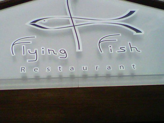 Flying Fish Restaurant Sign