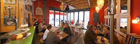 Lunar Cafe Knysna: our setting