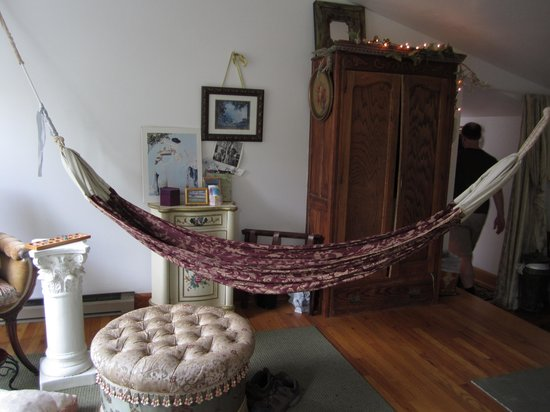 Cayuga Lake Front Inn : reading in the hammock was sooo relaxing