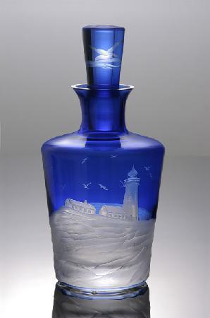 Artel - Lighthouse in Blue - Barware Decanter