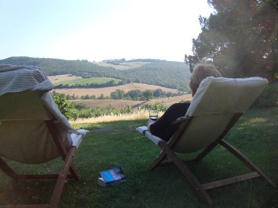 Agriturismo Podere Lamberto: the view