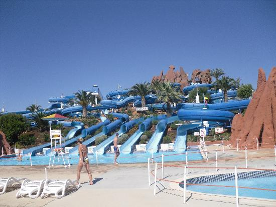 Hotel Paraíso de Albufeira: Slide and Splash