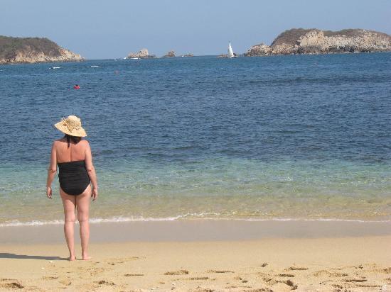 Playa San Augustin: beautiful views from beach