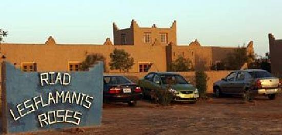 Riad Les Flamants Roses: la entre du riad