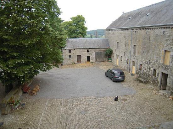 Chateau de Fisenne : Vue de notre chambre