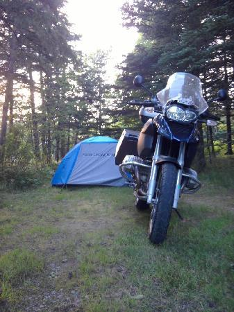Bass Harbor Campground: Motorcycle Friendly Camping