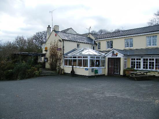 Trengilly Wartha Country Inn: Trengilly wartha's charecterful exterior