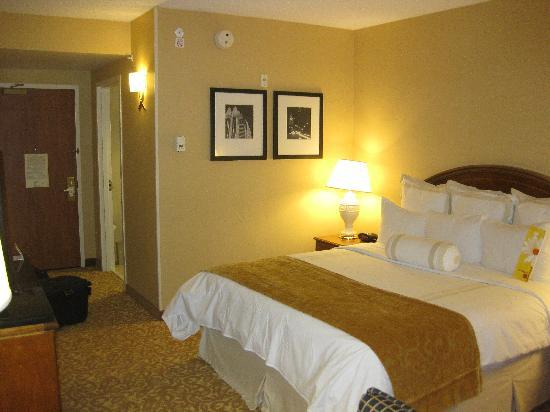Austin Marriott South: 1 King Room