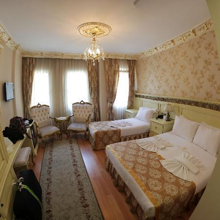 White House Hotel Istanbul : Unser Zimmer