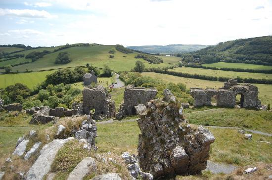 Rock of Dunamase: view from ruins