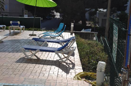 Hôtel Madame Mère : vue sur la piscine