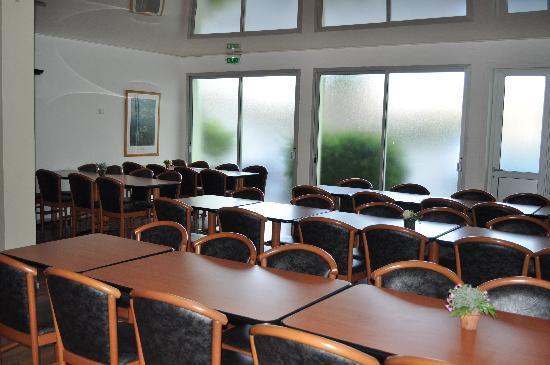 Hôtel Madame Mère : salle de restaurant