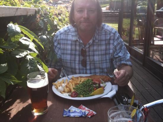 The Capercaillie: Excellent fish and chips