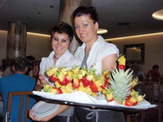 Hotel Villa Paola: Das Personal