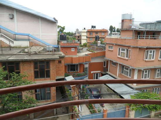 Kathmandu Bed & Breakfast Inn: View from top