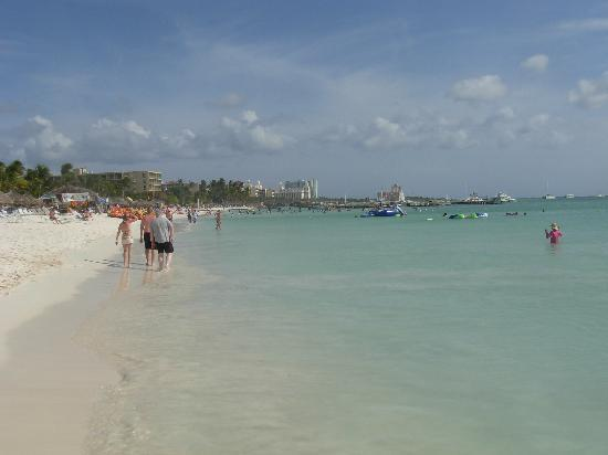 Aruba: Marriott beach
