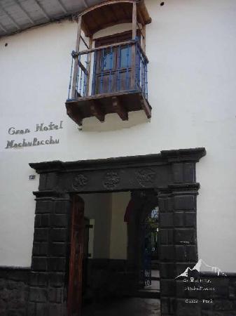 Gran Hostal Machu Picchu: Entrada al Gran Hotel Machupicchu