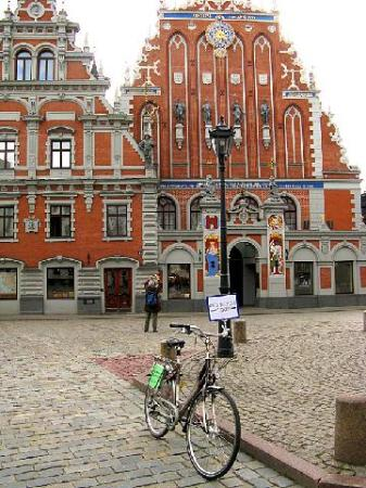 Riga Bike Tours starting point