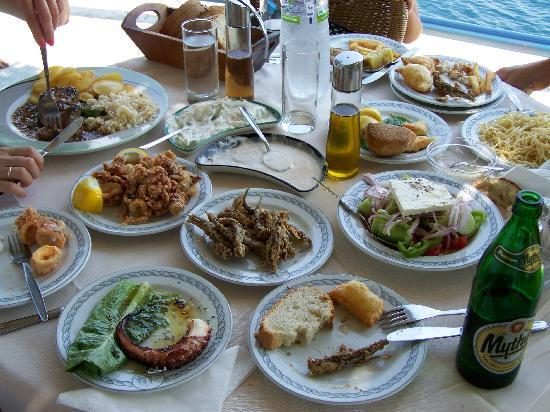 Nikiana, Greece: The Spread!!