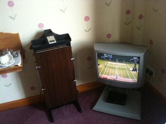 North West Castle Hotel: Small TV