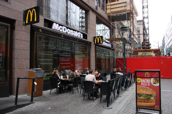 Helsinki, Finland: Get your Big Mac here