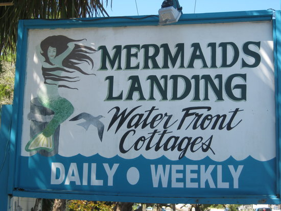 Mermaids Landing: As soon as I see this sign my blood pressure drops.