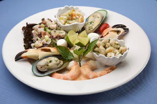La Dolce Vita : Seafood antipasto