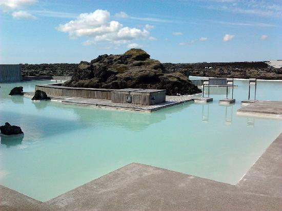 "Blue Lagoon Clinic: The hotel's ""private lagoon"""