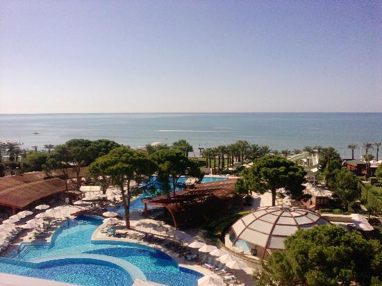 Cornelia De Luxe Resort: gorgeous view from our room!