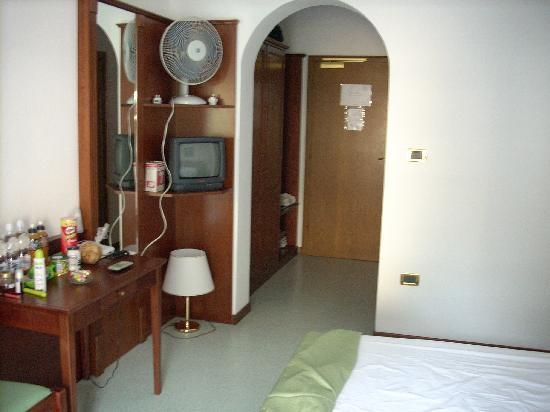 Hotel Villa Adriana: ingresso camera