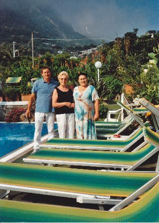 Hotel Villa Janto: Io e i proprietari