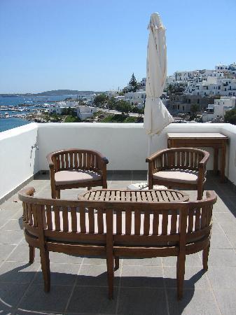 Alexandros Studio Apartments: balcony alexandros