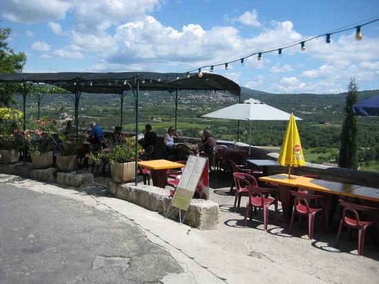Lacoste, Francia: Cafe de France