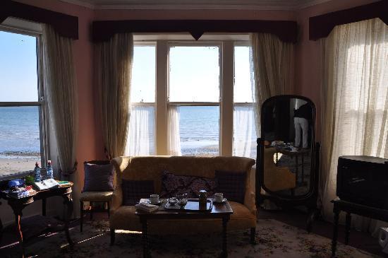 Crofton Bray Head Inn: View of sea