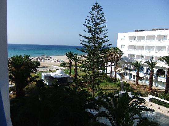Hotel Club Les Colombes : vue depuis la chambre