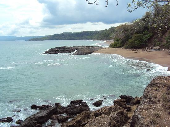Tango Mar Beachfront Boutique Hotel & Villas: View from top of waterfall