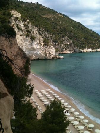 Hotel Baia delle Zagare : la spiaggia