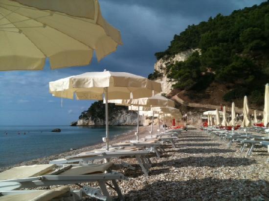 Hotel Baia delle Zagare : Spiaggia