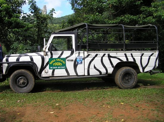 Raro Mountain Safari Tour: Our truck
